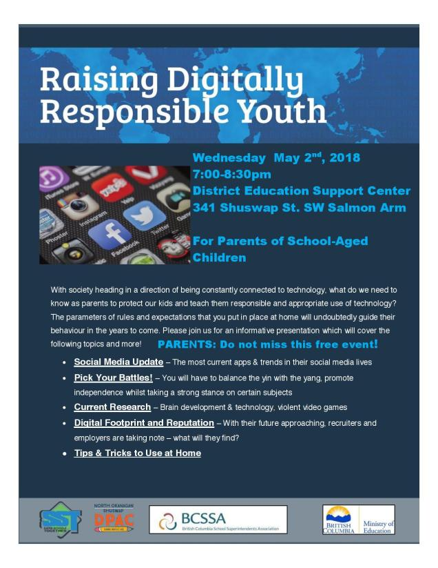 2018 Raising Digitally respondible youth
