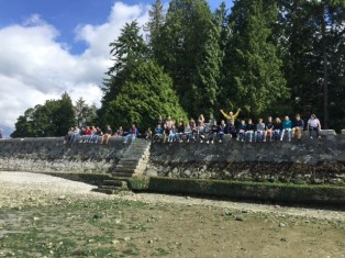 Science trip Seawall